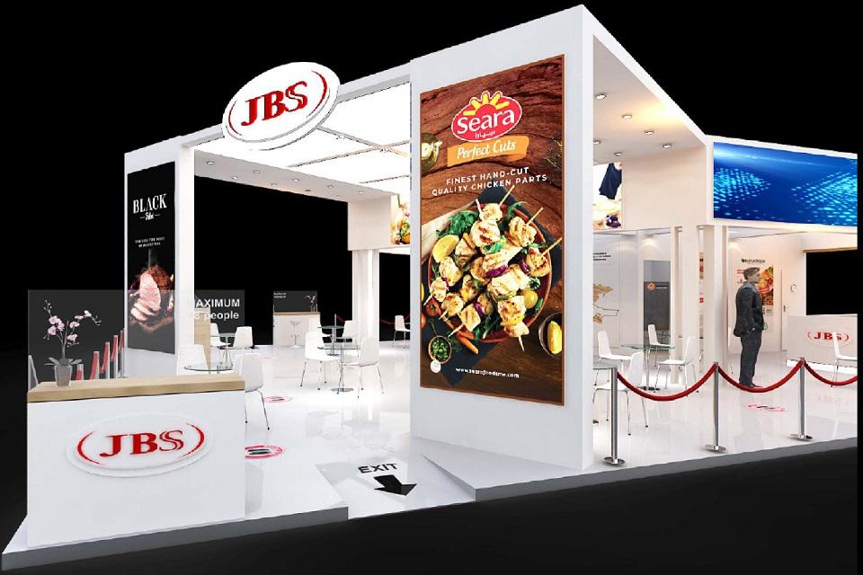 stand de produtos árabe jbs